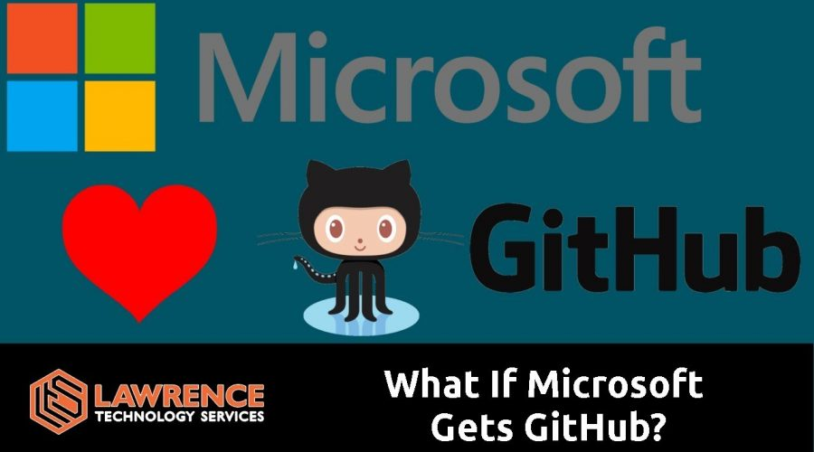 "git commit -m ""What If Microsoft Gets GitHub?"""