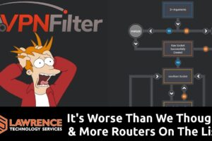 VPNFilter Update:It's Worse Than We Thought, & More Routers On The List.