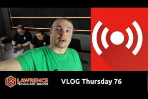 VLOG Thursday Episode 76 Xeon On Fire