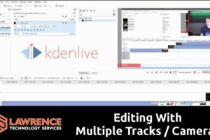 How To Do Multi Track / Camera Editing With Kdenlive 17