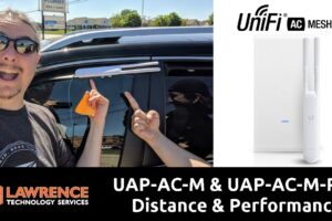 Testing Ubiquiti Networks / UniFi UAP-AC-M & UAP-AC-M-PRO Distance & Performance