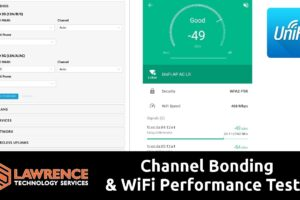 What is Channel Bonding & WiFi Performance Tests 20MHz vs 80MHz ( UniFI VHT80 vs VHT20)