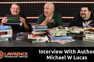 An Interview With Tech & Science Fiction Author Michael W Lucas