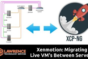 XCP-NG & Xenmotion: Migrating Live VM's Between Servers and not even dropping a call in FreePBX!