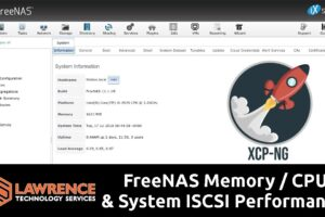 FreeNAS Performance Testing Using Our 16GB / Intel i5-4570 / 36TB Server VIA ISCSI & XCP-NG