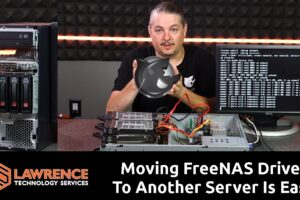 How Easy is Moving FreeNAS Drives From One Server to Another?  Very Easy!