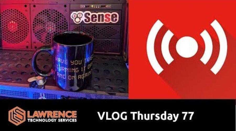 VLOG Thursday Episode 76 Java, Firewalls, Sponsors & 4th of July