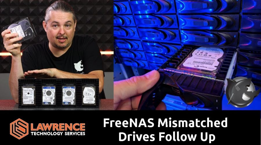 FreeNAS Mismatched Drive Testing With Old Laptop Drives 11 month Follow up.