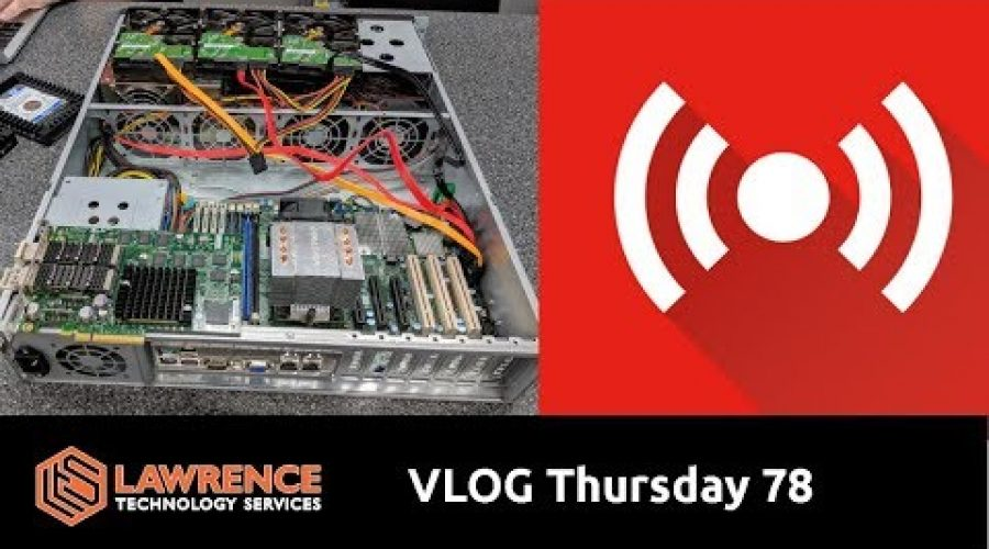 VLOG Thursday Episode 78 Hire Us Do the Typing For You, Xen Server, FreeNAS, pfsense