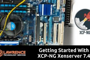XCP NG Xenserver 7.4 Install Tutorial. From bare metal to loaded VM using XenCenter