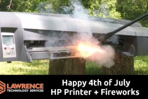 Extracting a Gameboy From an HP Printer With Fireworks To KIck Of The 4th of July Holiday!