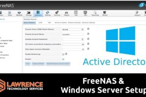 How To Setup FreeNAS 11.1 With Active Directory & Windows Server 2016