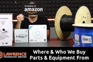 Where & Who We Buy Parts, Cable & Equipment From and How Much I Hate Filling Out Forms