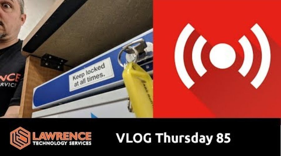 VLOG Thursday Episode 84 Processes and Software We Use at LawrenceSystems