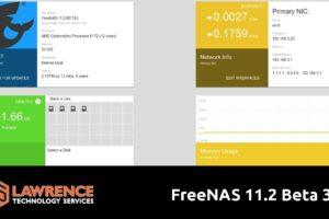 FreeNAS 11 2 Beta 3 Update