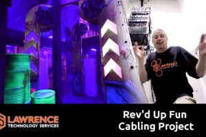 The Rev'd Up Fun Client Structured Cabling Project in Detroit Michigan Is Complete!