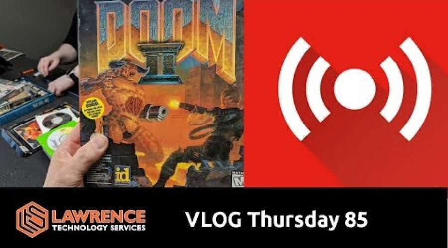 VLOG Thursday Episode 85 The New Guy & Leaky Network Cables