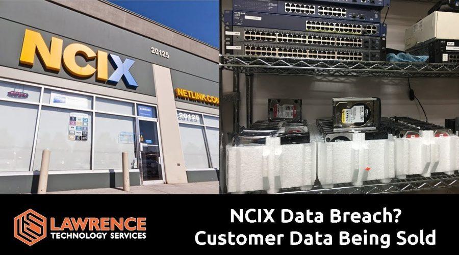 NCIX Data Breach? Customer Data Being Sold