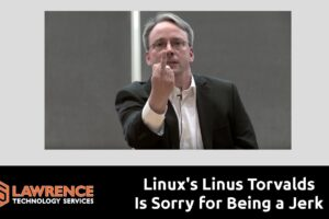 Linux's Linus Torvalds Is Sorry for Being a Jerk