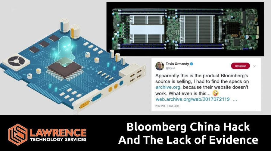 Bloomberg & The Lack of Evidence That China Used a Tiny Chip to Infiltrate U.S. Companies