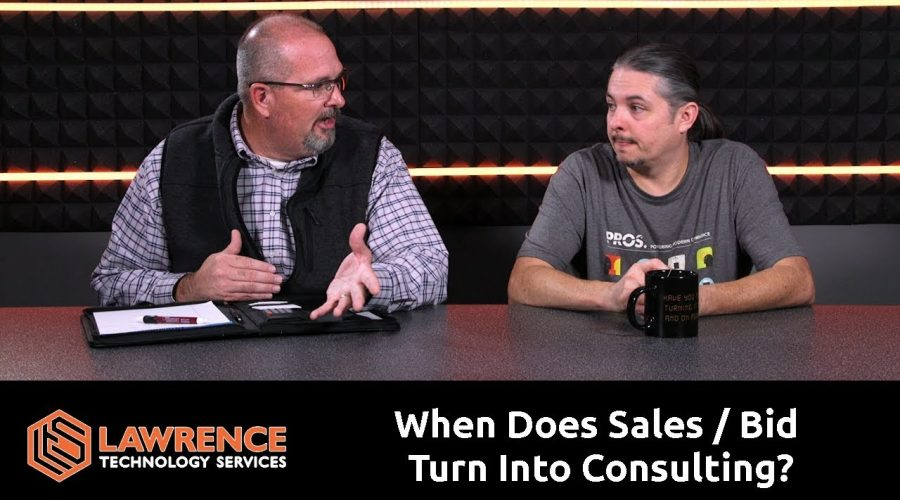 When Does Sales / Bid Turn Into Consulting?