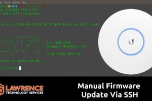 How to Manually Update UniFI Access Point Firmware via SSH