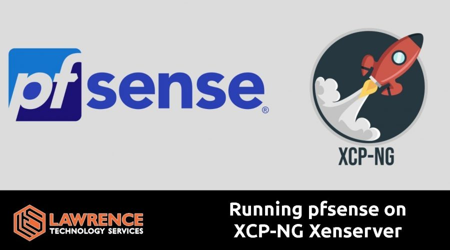 Running pfsense on XCP-NG Xenserver and Installing Xenserver tools