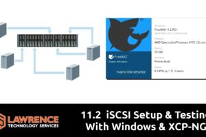 FreeNAS 11.2  iSCSI Setup & Testing With Windows & XCP-NG