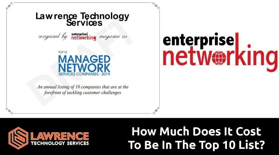 How Much Would It Cost to be in the Top 10 Managed Network Services Companies?