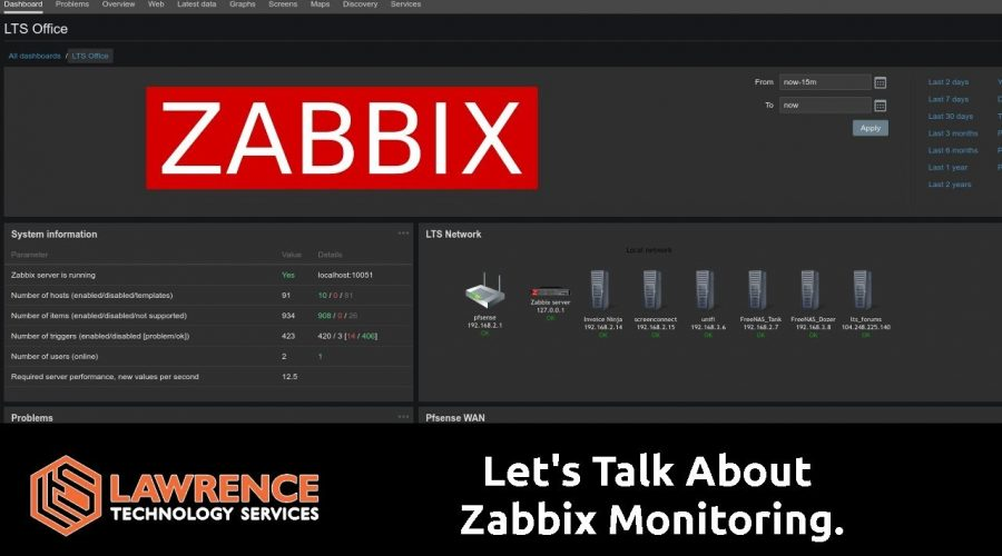 An overview of Zabbix 4.0 and how we are using it.
