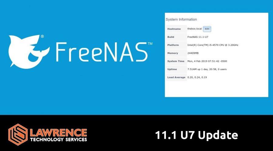 FreeNAS 11.1 U7 Update: Samble Security Fixes