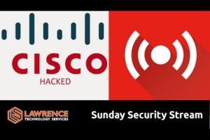 Sunday Security Stream: Cisco RV320 / MikroTik / Asus Hack / And some errata