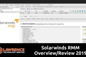 Solarwinds MSP RMM Overview / Review 2019 from an MSP perspective