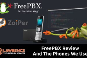 FreePBX One Year Follow up Review and The Phones We Use: Yealink YEA-W56P & Zoiper