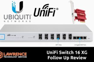 10g UniFi Switch16 XG Follow Up Review & Performance with ASUS XG-C100C
