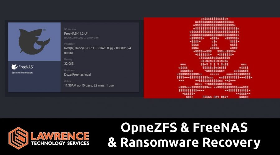 Combating Ransomware with FreeNAS OpenZFS Snapshots