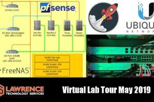 Virtualization Lab Network Setup / Demo using XCP-NG, UniFi, pfsense and Xen Orchestra