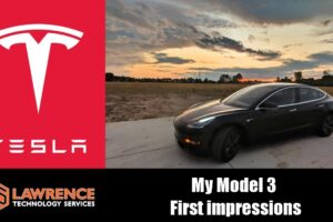 My Tesla Model 3 First Impressions after one week and 600 miles.