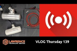 VLOG Thursday 139: Virtual Machines, New Lab Coming Along, Maybe Some Money Talk