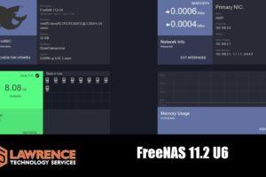 FreeNAS Update 11.2-U6