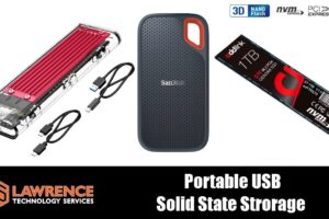 1TB Portable USB Solid State Storage: SanDisk Extreme Portable SSD & Addlink S70 NVMe