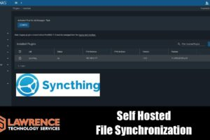 Configuring The Free Open Source Self Hosted File Synchronization Tool SyncThing in a FreeNAS Jail