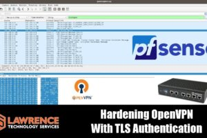 Hardening OpenVPN With TLS Authentication