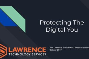 Protecting The Digital You October 2019