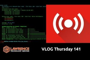 VLOG Thursday 141: Consulting, Virtualization and FreeNAS Storage Discussion