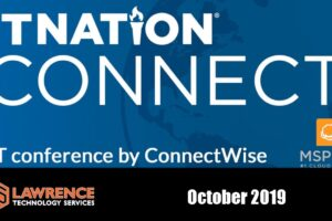 I Will Be at IT Nation Connect October 2019
