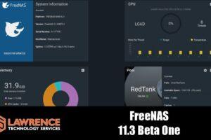 FreeNAS 11.3-BETA1 Review