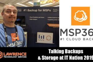 Talking Backups With MSP360 at IT Nation 2019
