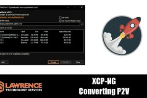 How To Convert Physical Servers to Virtual Using Disk2vhd With XCP-NG & Xen Orchestra