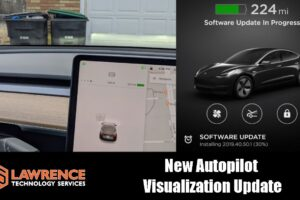 Tesla Model 3 2019.40.50.1 Update and Driving Visualization Improvements